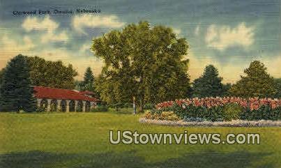 Elmwood Park - Omaha, Nebraska NE Postcard