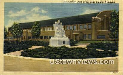 Field House - Boys Town, Nebraska NE Postcard
