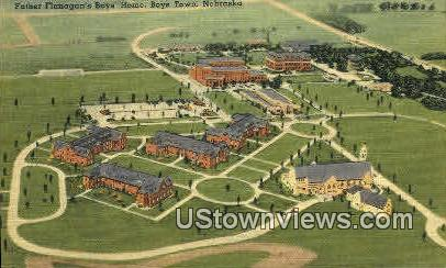 Father Flanagan's Boys Home - Boys Town, Nebraska NE Postcard