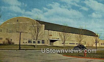 Field House & Gymnasium - Boys Town, Nebraska NE Postcard