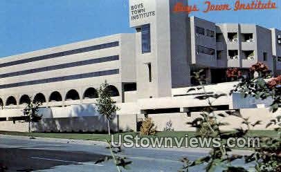 Boys Town Institute - Nebraska NE Postcard