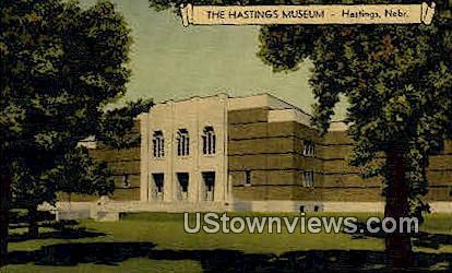 The Hastings Museum - Nebraska NE Postcard