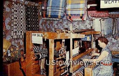 The Loom Shop, Pioneer Village - Minden, Nebraska NE Postcard