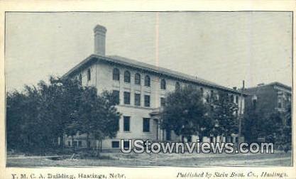 YMCA Bldg - Hastings, Nebraska NE Postcard