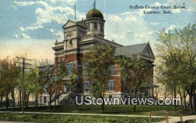 Buffalo County Court House - Kearney, Nebraska NE Postcard