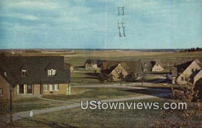 Cottages, High School - Boys Town, Nebraska NE Postcard
