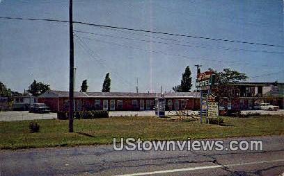 Lake Sunset Motel - Fremont, Nebraska NE Postcard