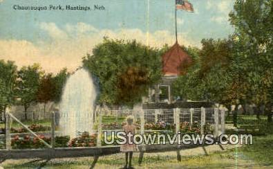 Chautauqua Park - Hastings, Nebraska NE Postcard