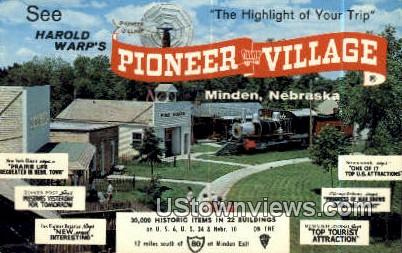 Harold Warp's - Minden, Nebraska NE Postcard