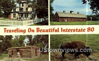 Buffalo Bill's Scout Rest Ranch - Interstate 80, Nebraska NE Postcard