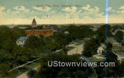 Superior, NE,     :     Superior, Nebraska Postcard