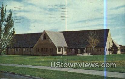 High School Boys Dining Hall - Boys Town, Nebraska NE Postcard