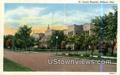 St Josephs - Alliance, Nebraska NE Postcard
