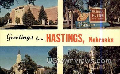House of Yesterday - Hastings, Nebraska NE Postcard