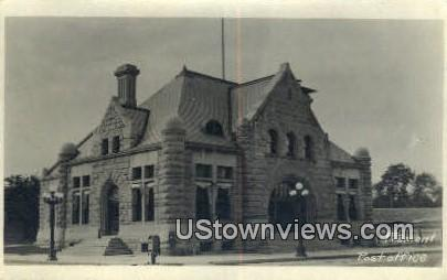 Real Photo - Post Office - Fremont, Nebraska NE Postcard