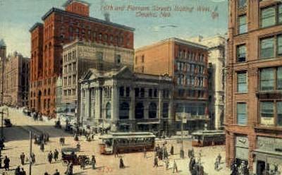 16th St. - Omaha, Nebraska NE Postcard