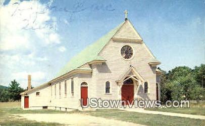 Saint Joan of Arc Catholic Church - Alton, New Hampshire NH Postcard