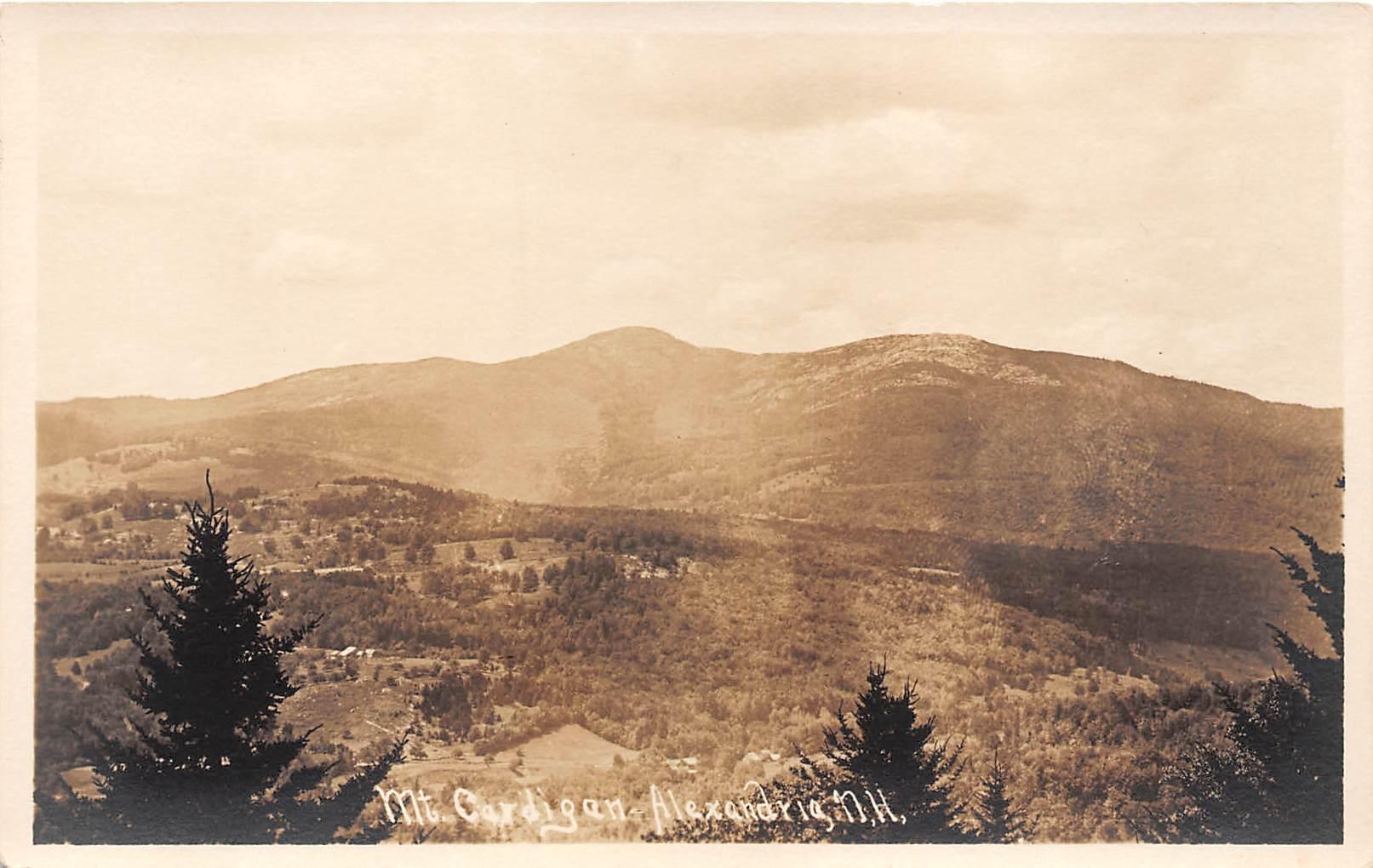 Mount Cardigan - Alexandria, New Hampshire NH Postcard