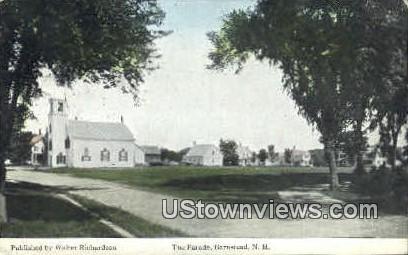 The Parade - Barnstead, New Hampshire NH Postcard