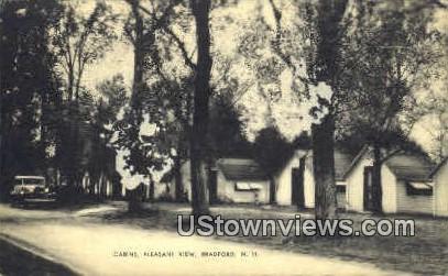 Cabins, Pleasant View - Bradford, New Hampshire NH Postcard
