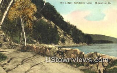 The Ledges, Newfound Lake - Bristol, New Hampshire NH Postcard