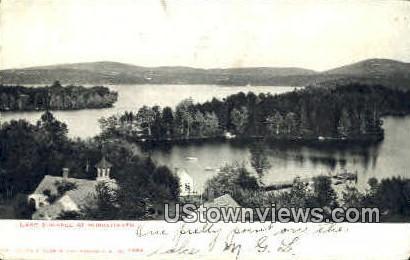 Lake Sunapee - Burkehaven, New Hampshire NH Postcard