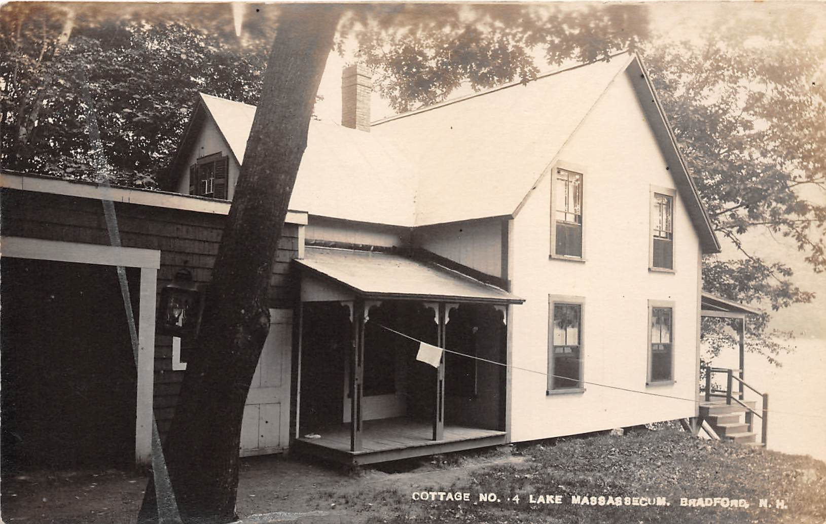 Cottage No 4 - Bradford, New Hampshire NH Postcard