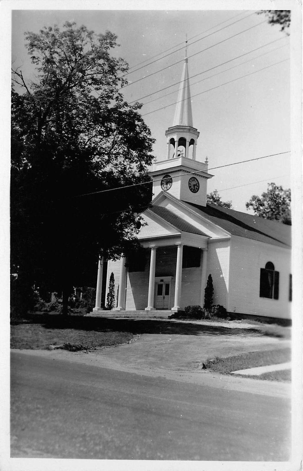 Church - Bradford, New Hampshire NH Postcard