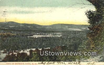 Corbins Park, NH    ;      Corbins Park, New Hampshire Postcard