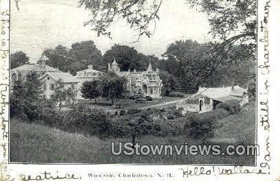 Woodside - Charlestown, New Hampshire NH Postcard