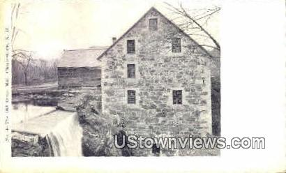 Old Stone Mill - Charlestown, New Hampshire NH Postcard