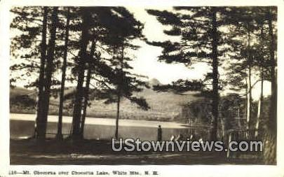 Mt Chocorua & Lake - White Mountains, New Hampshire NH Postcard