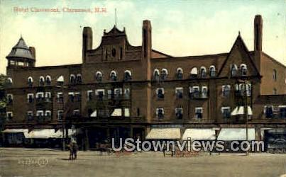 Hotel Claremont - New Hampshire NH Postcard