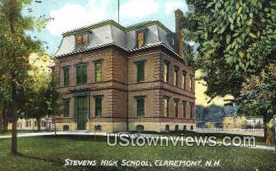 Stevens High School - Claremont, New Hampshire NH Postcard