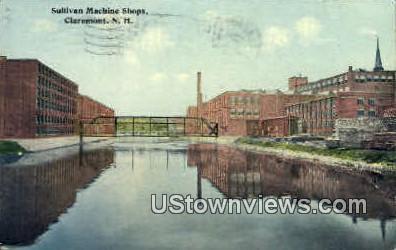 Sullivan Machine Shops - Claremont, New Hampshire NH Postcard