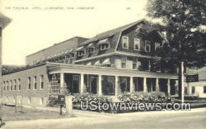 The Colonial Hotel - Claremont, New Hampshire NH Postcard