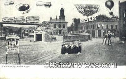 In the Future - Claremont, New Hampshire NH Postcard