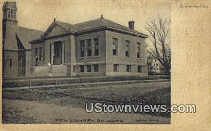 New Library Building - Claremont, New Hampshire NH Postcard
