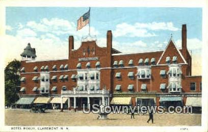 Hotel Moody - Claremont, New Hampshire NH Postcard