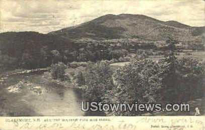 Ascutney Mountain - Claremont, New Hampshire NH Postcard
