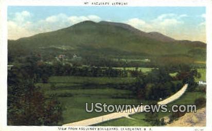 Mt. Ascutney - Claremont, New Hampshire NH Postcard