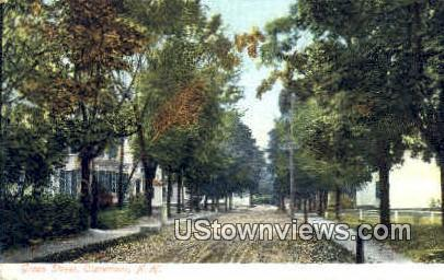 Green St. - Claremont, New Hampshire NH Postcard