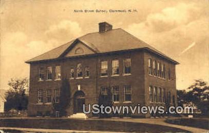 North St. School - Claremont, New Hampshire NH Postcard