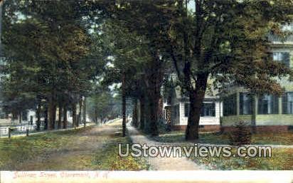 Sullivan St. - Claremont, New Hampshire NH Postcard