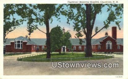 Claremont Memorial Hospital - New Hampshire NH Postcard