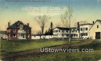 Claremont Hospital - New Hampshire NH Postcard