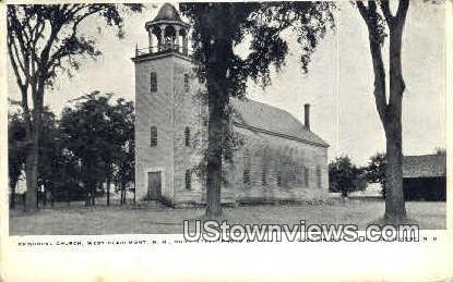Episcopal Church - Claremont, New Hampshire NH Postcard