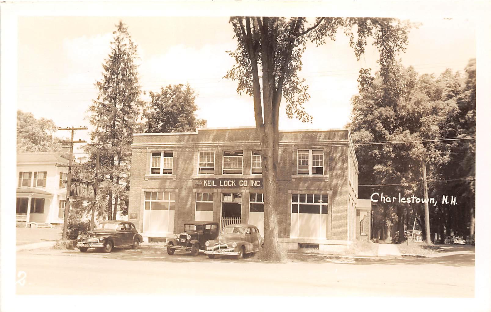 Keil Lock Co Inc - Charlestown, New Hampshire NH Postcard