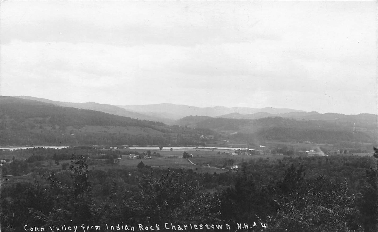 Connecticut Valley - Charlestown, New Hampshire NH Postcard