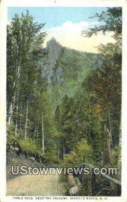 Table Rock - Dixville Notch, New Hampshire NH Postcard